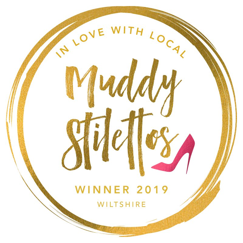 We Won! - Muddy Stilettos Awards 2019 (Wiltshire) BEST BEAUTY SALON category. Thank you so very much  for voting for us.
