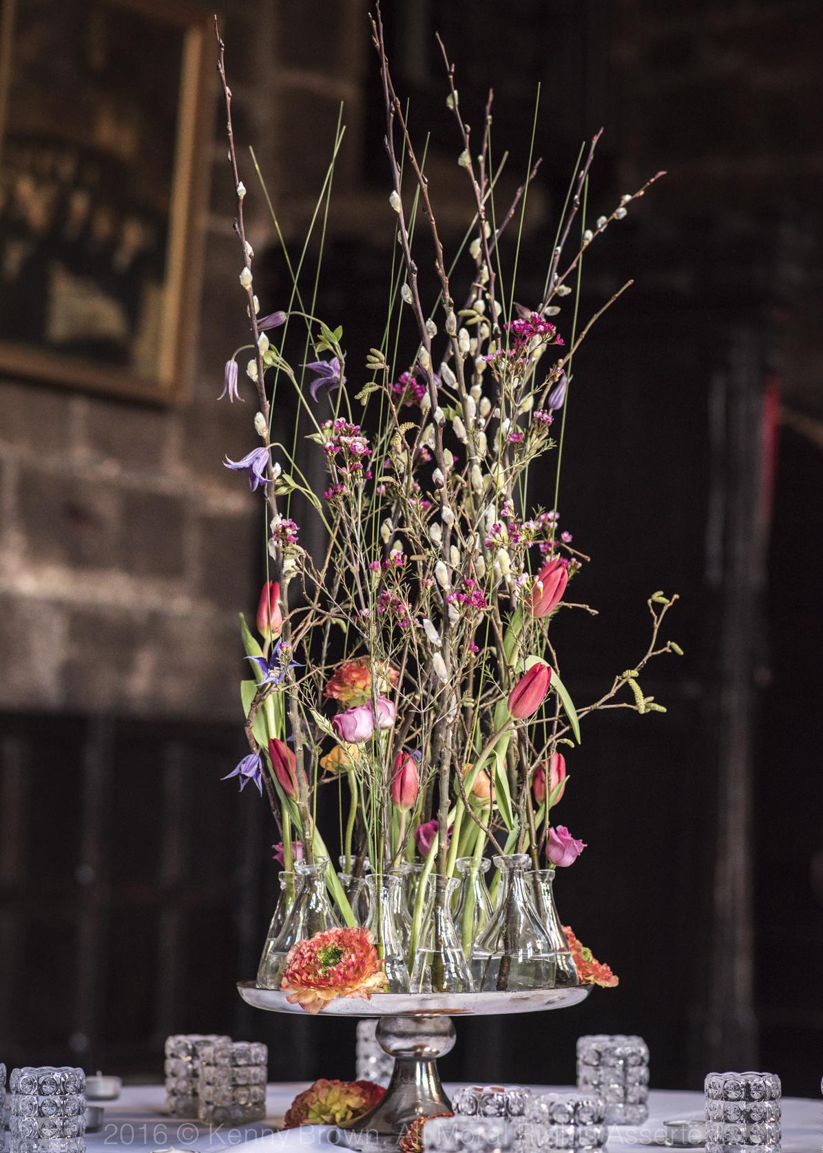 Table flowers, Paragon floral design