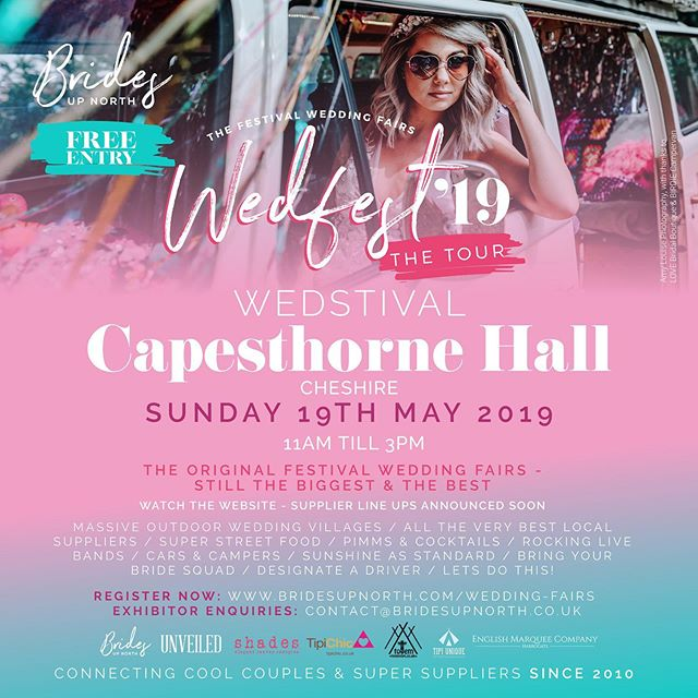 If you are getting married and looking for some great suppliers then why not visit Capethorne Hall wedding fair tomorrow? I'll be there with fabulous flowers ready to talk about all things flowery for your day. Looking forward to seeing you there x