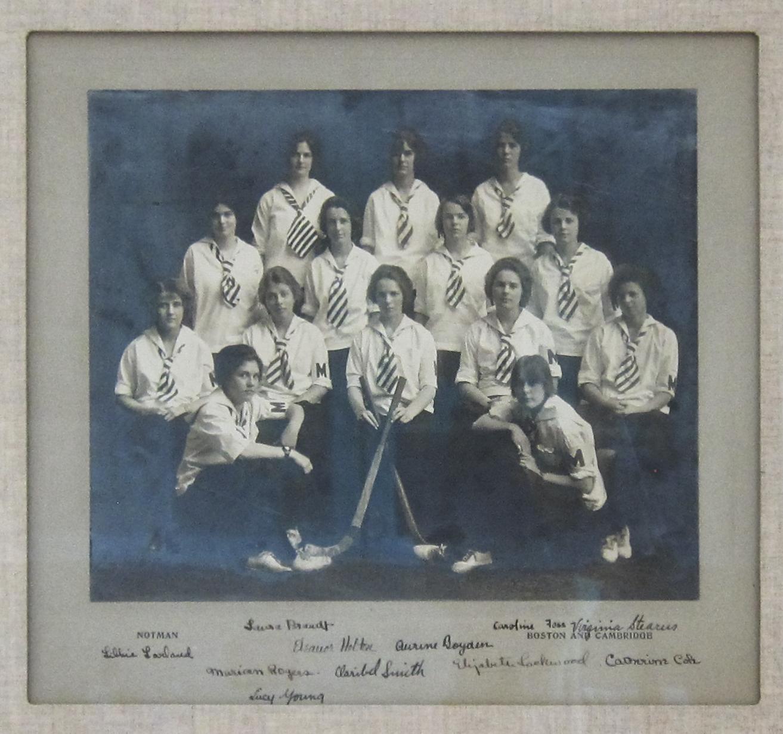 My grandmother, Kay Thompson's field hockey team.