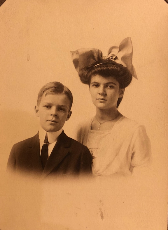 My grandfather, Bill Thompson, as a young boy.