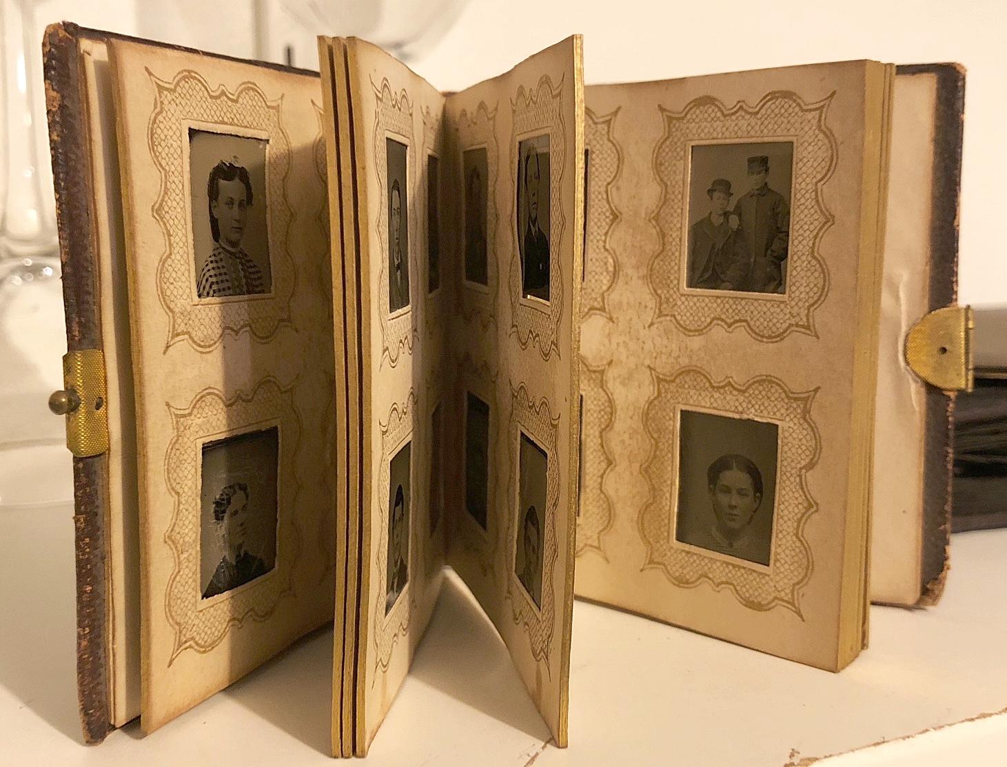 My mom's family photo album.