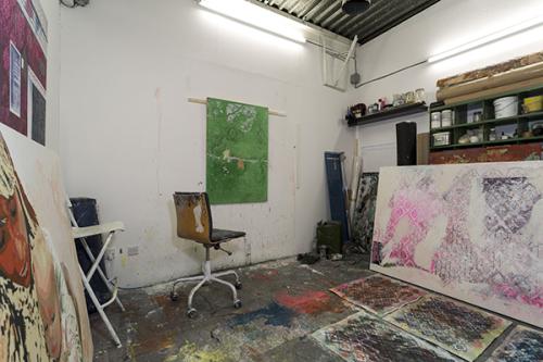 Artist's Studio at White Post Lane E9