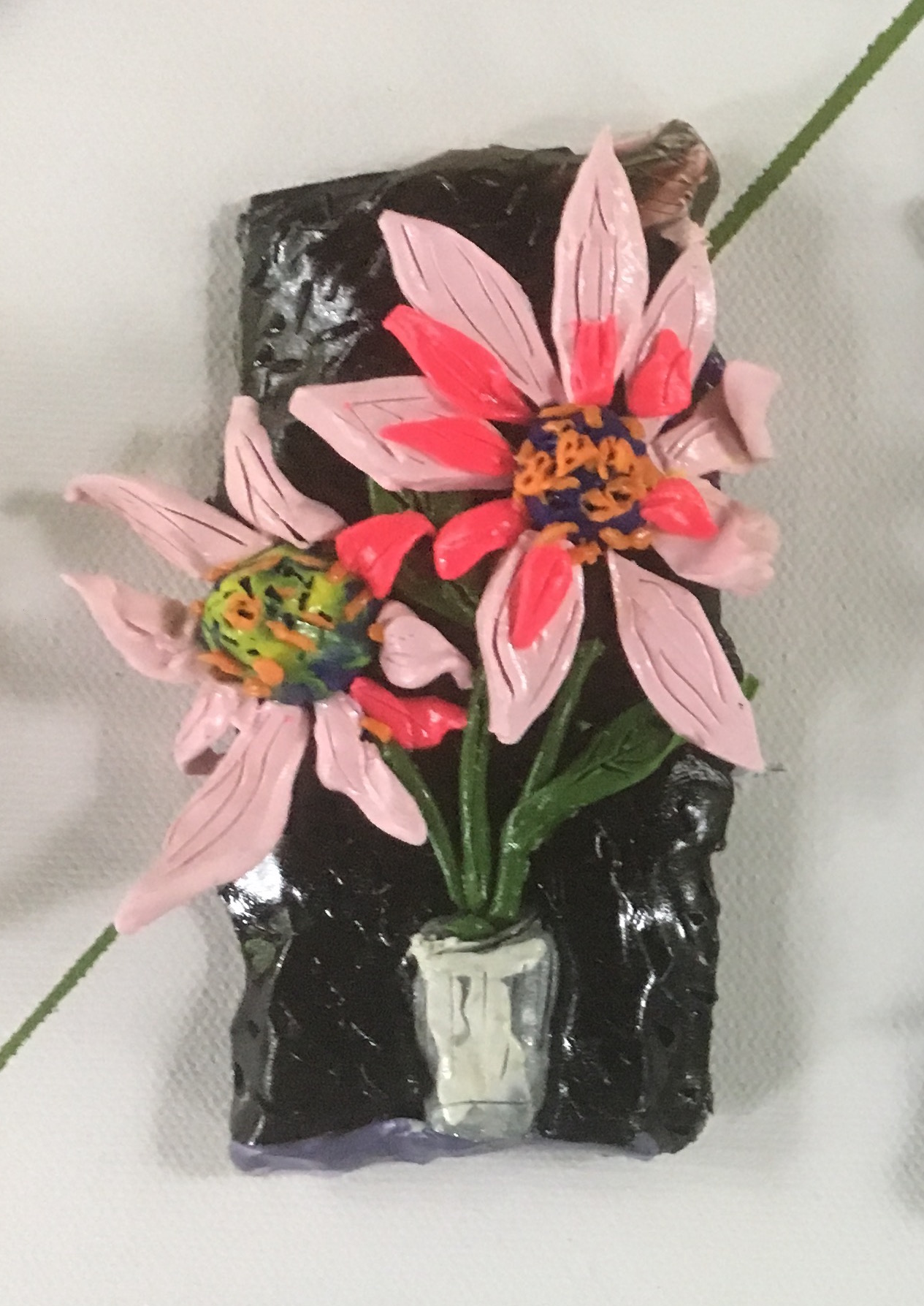 michael and sara chaney art coneflower