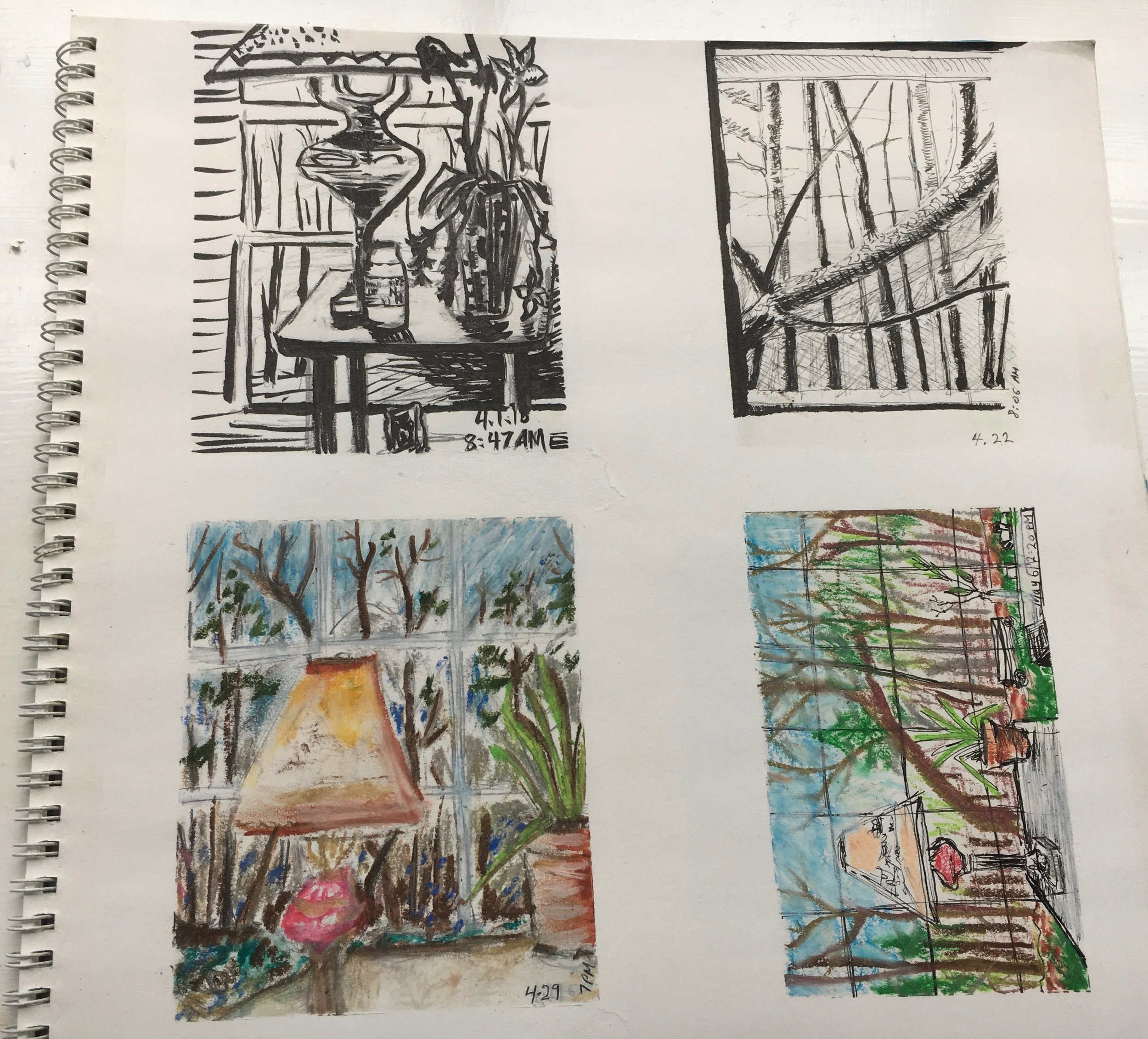 michael chaney and sara chaney poem month of sundays April sketches.jpg