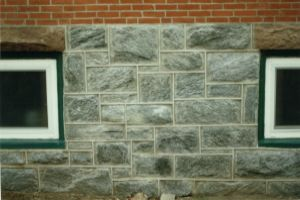 Ribbon Joint on Stone Work