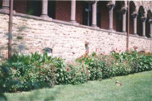 Stone and Brownstone Pillar Restoration