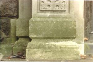 Before limestone restoration