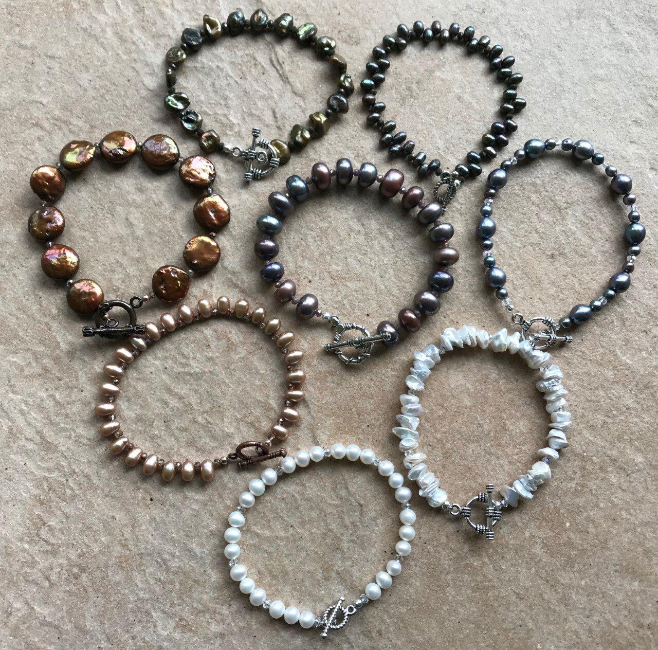 Luann G Pearl Bracelets 2.jpg