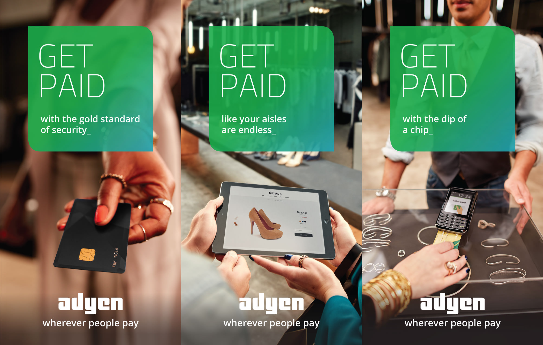 Adyen Photography Pim Hendriksen Advertising OOH outdoor handmodels close up
