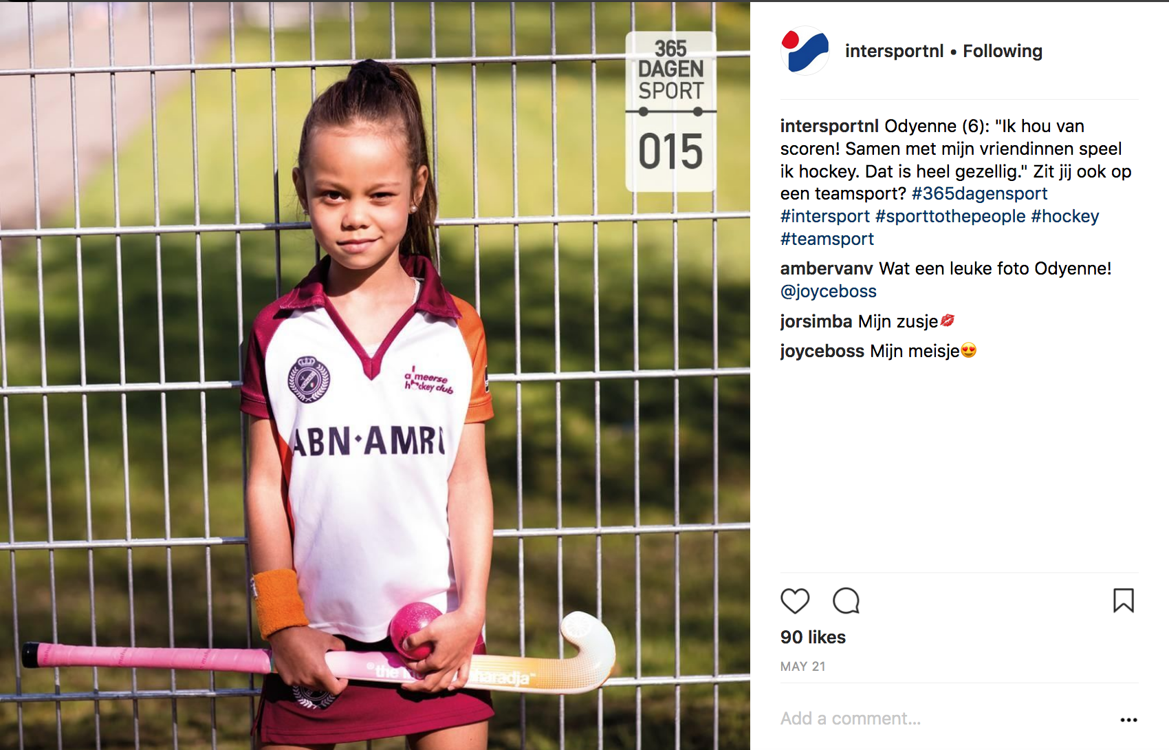 intersport social media campaign mpg arjaan hamel