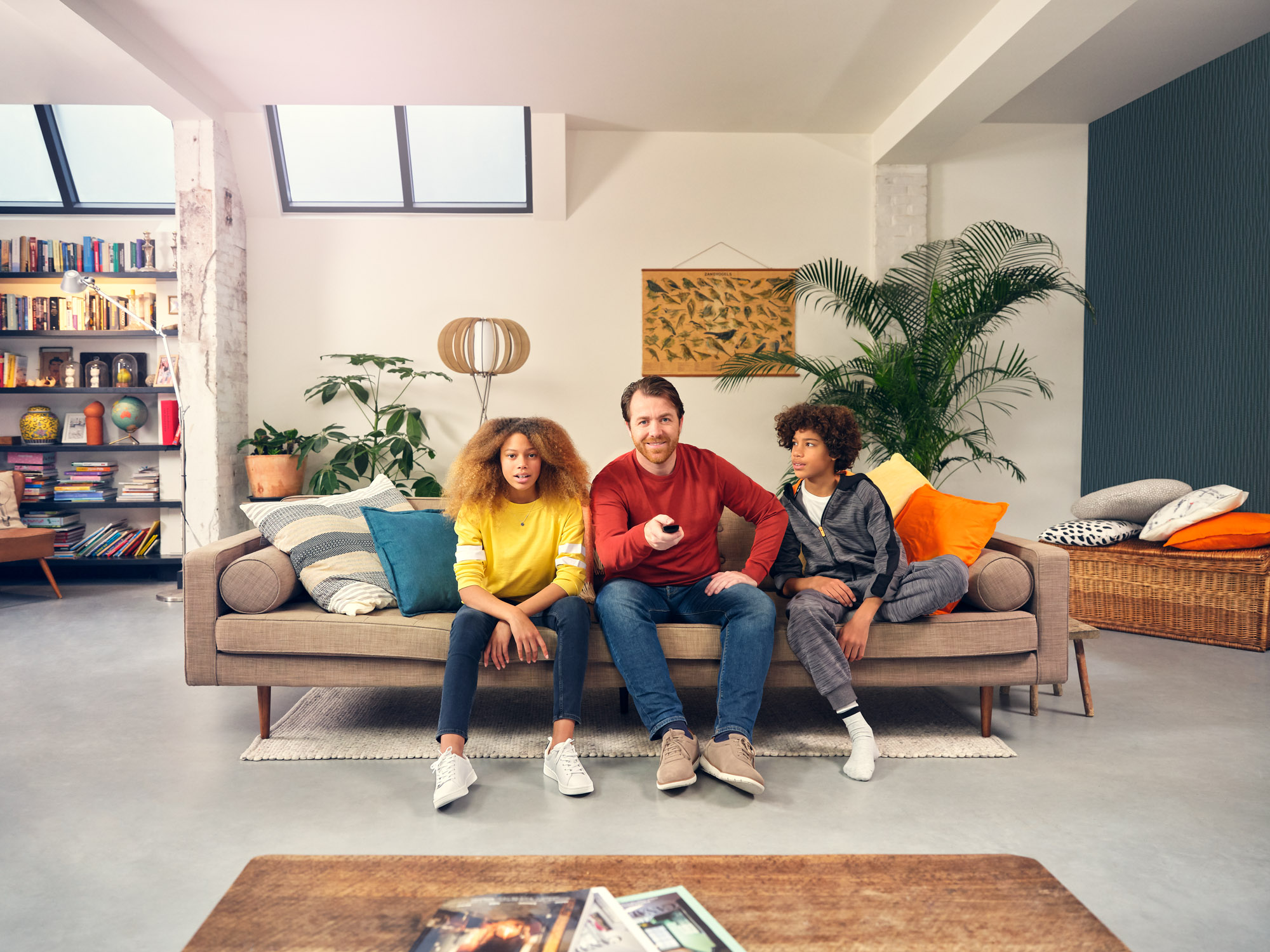 Bram Schilling key visuals ziggo advertising photography