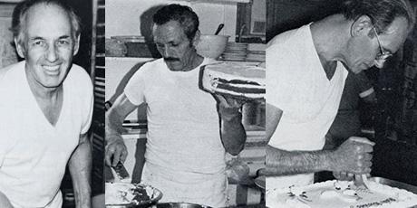 Hans Kottman (L),Josef Breitenmoser (M) and Gottfried Dutloff (R)