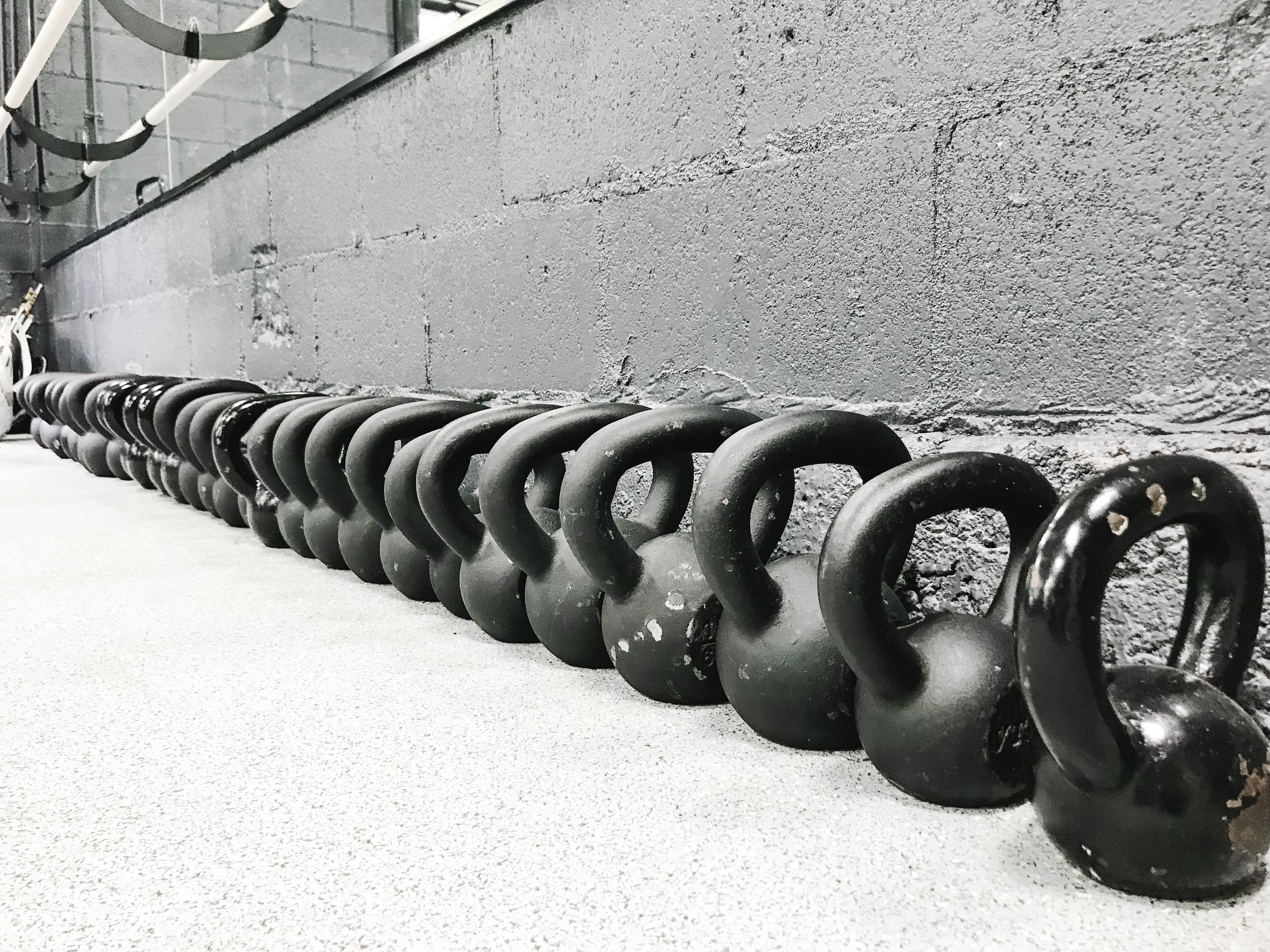 TRX/Kettlebell - Cover all your bases with two of the most effective tools : TRX and kettlebells!