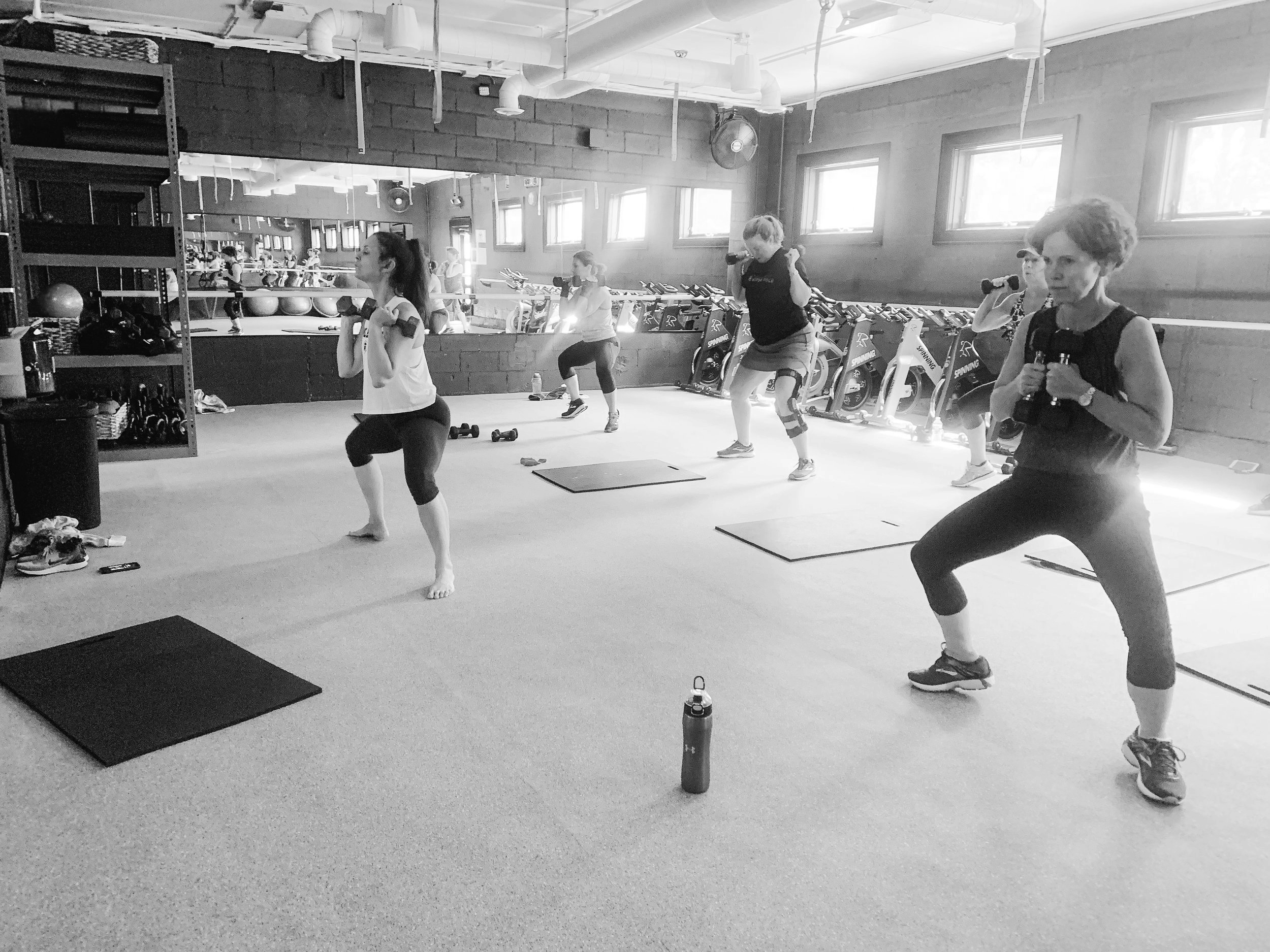 HIIT IT - HIIT. High Intensity Interval Training class with all our favorite fitness tools. Push yourself for burst of power, strength and cardio!