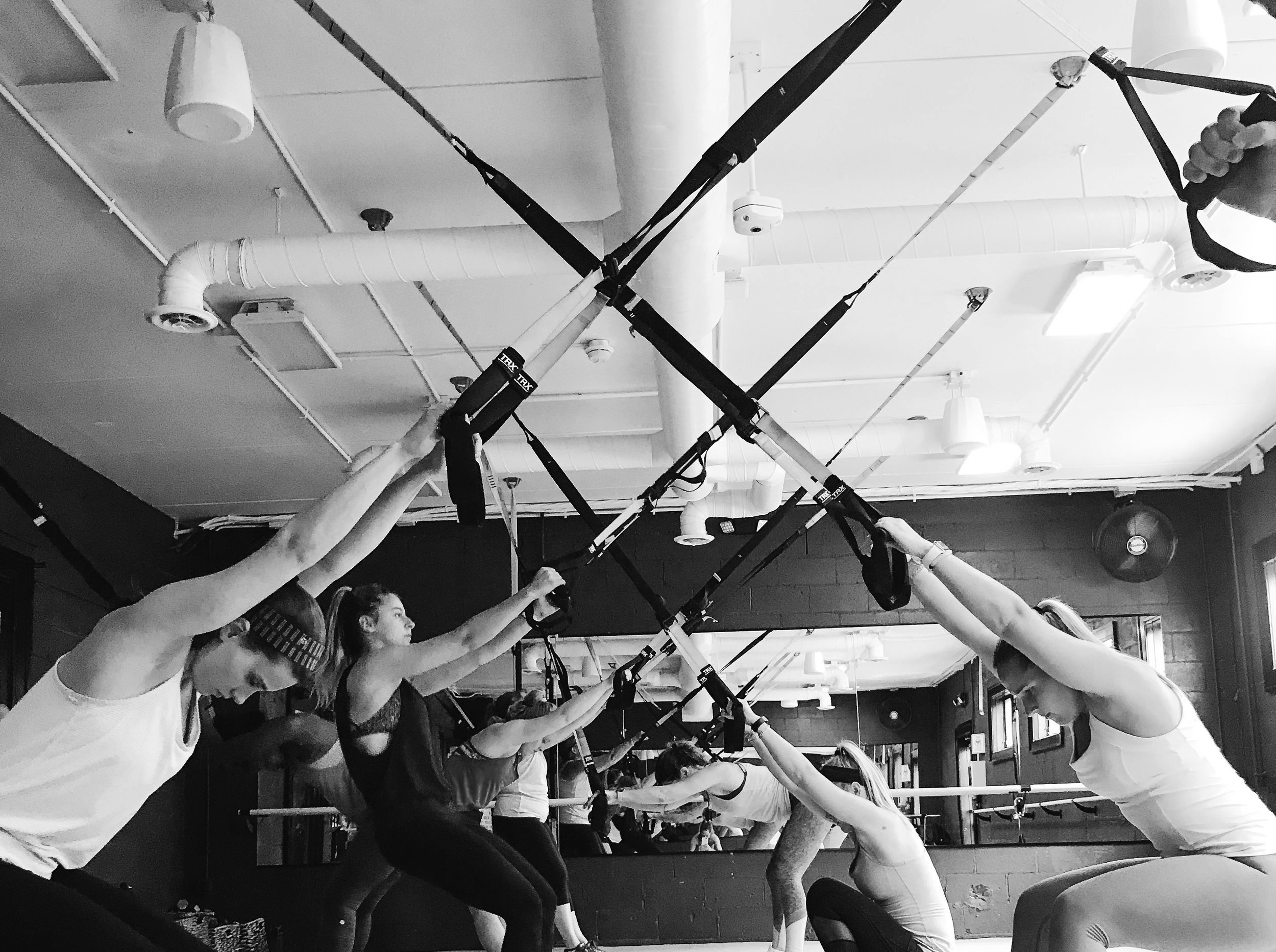 TRX TOTAL BODY - ALL TRX! Low-impact suspension training.