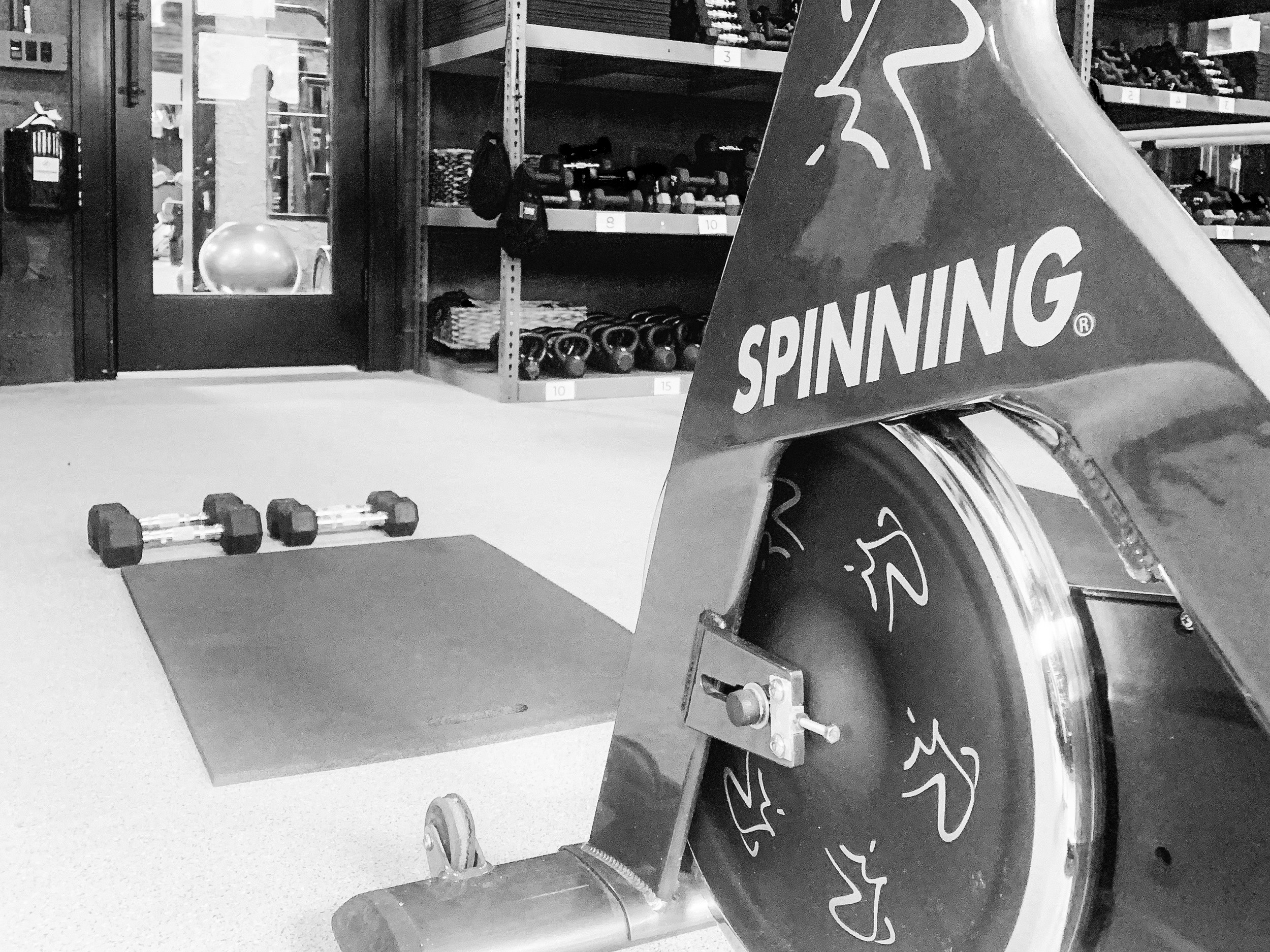 SPIN & SHRED - 40 mins of spin and 15 minutes of arm and ab blast off the bike.