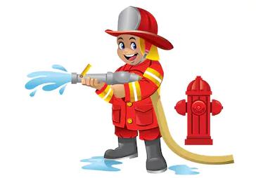 Jr Firefighter Camp July 31st thru August 2nd.