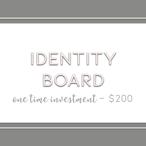 Identity Board