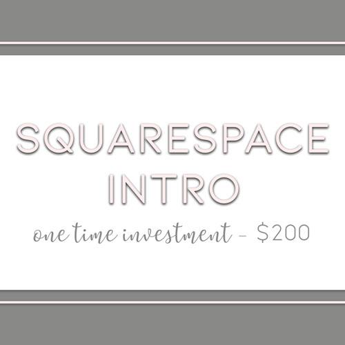 Squarespace Intro