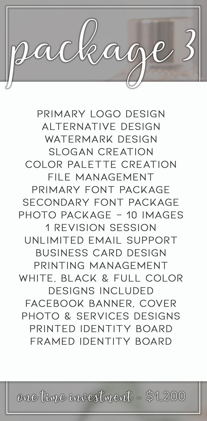Branding Package #3 - Badass Marketing Solutions