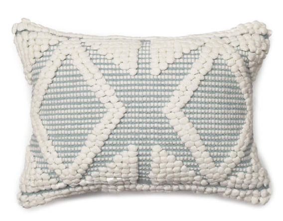 Ether Miranda Diamond Lumbar Pillow (13X18) -