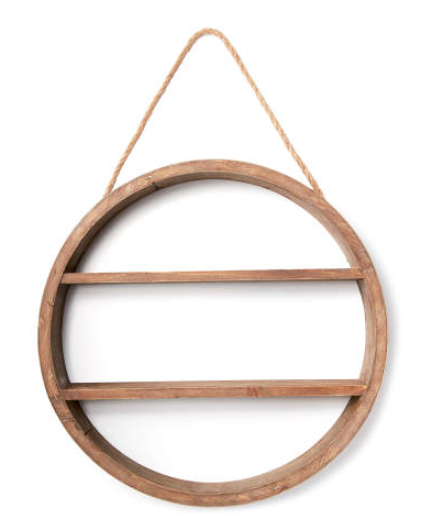 Hanging Circle Shelf -