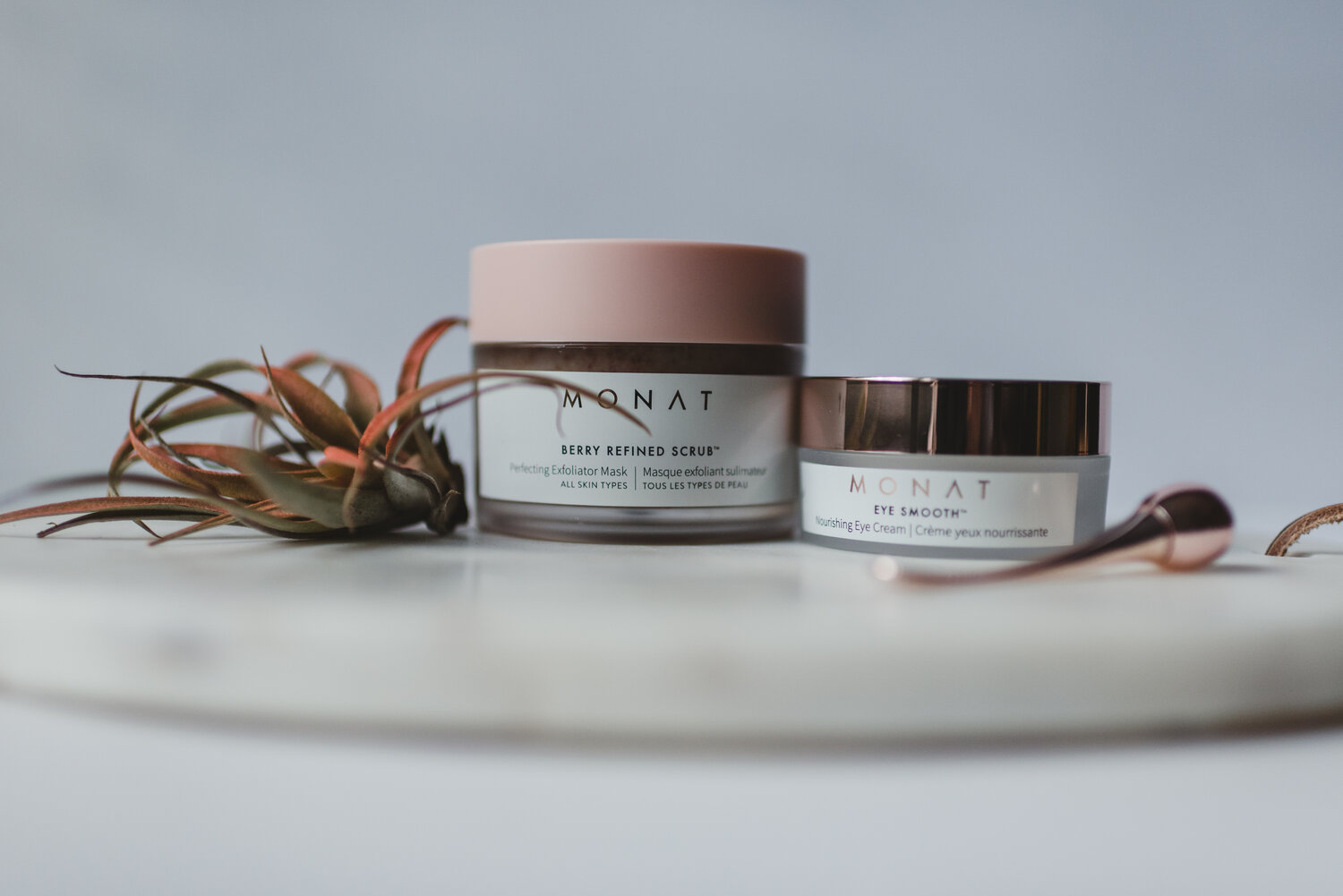 Monat S Naturally Based Anti Aging Skincare Line Monica Brown