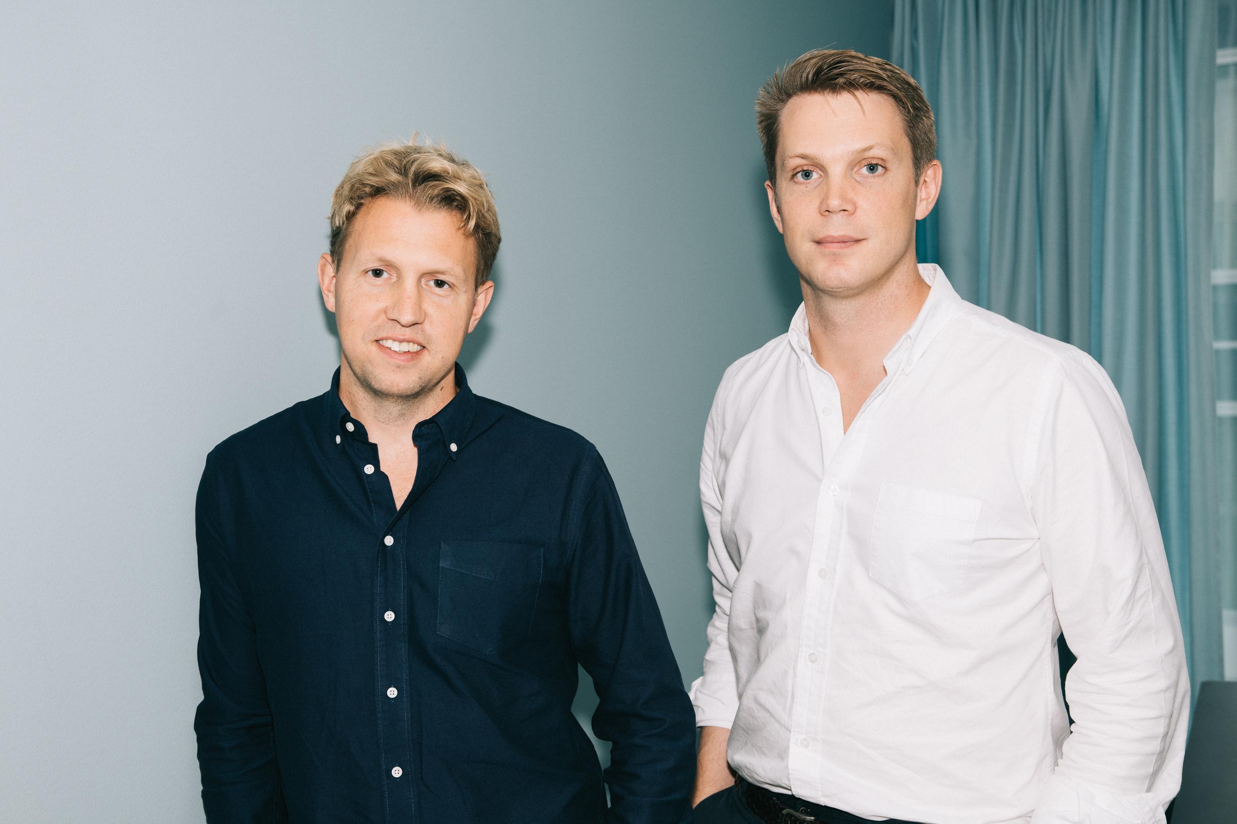 Co-founders Daniel Kjellén (CEO) and Fredrik Hedberg (CTO)  Download