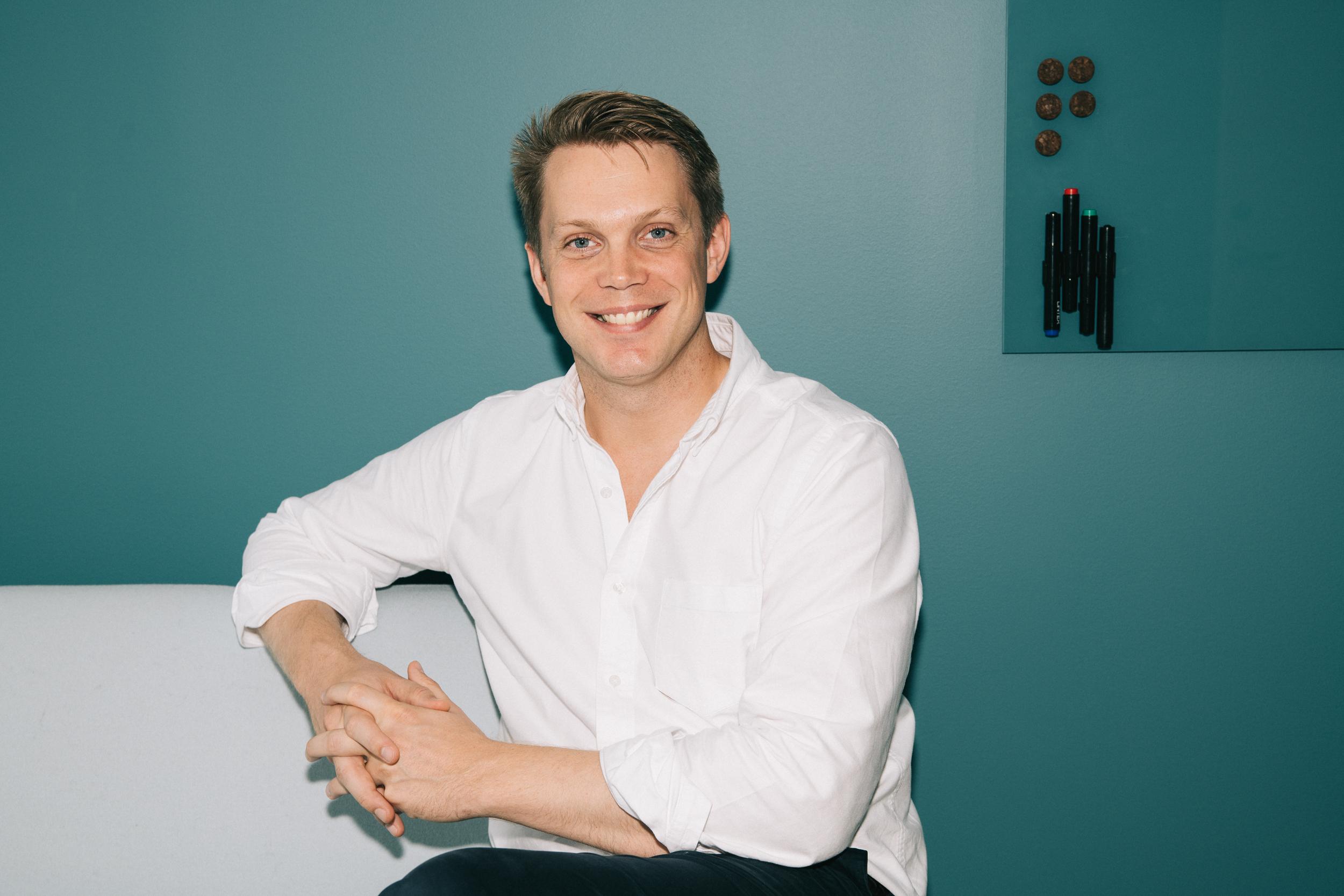 Co-founder Fredrik Hedberg (CTO)  Download
