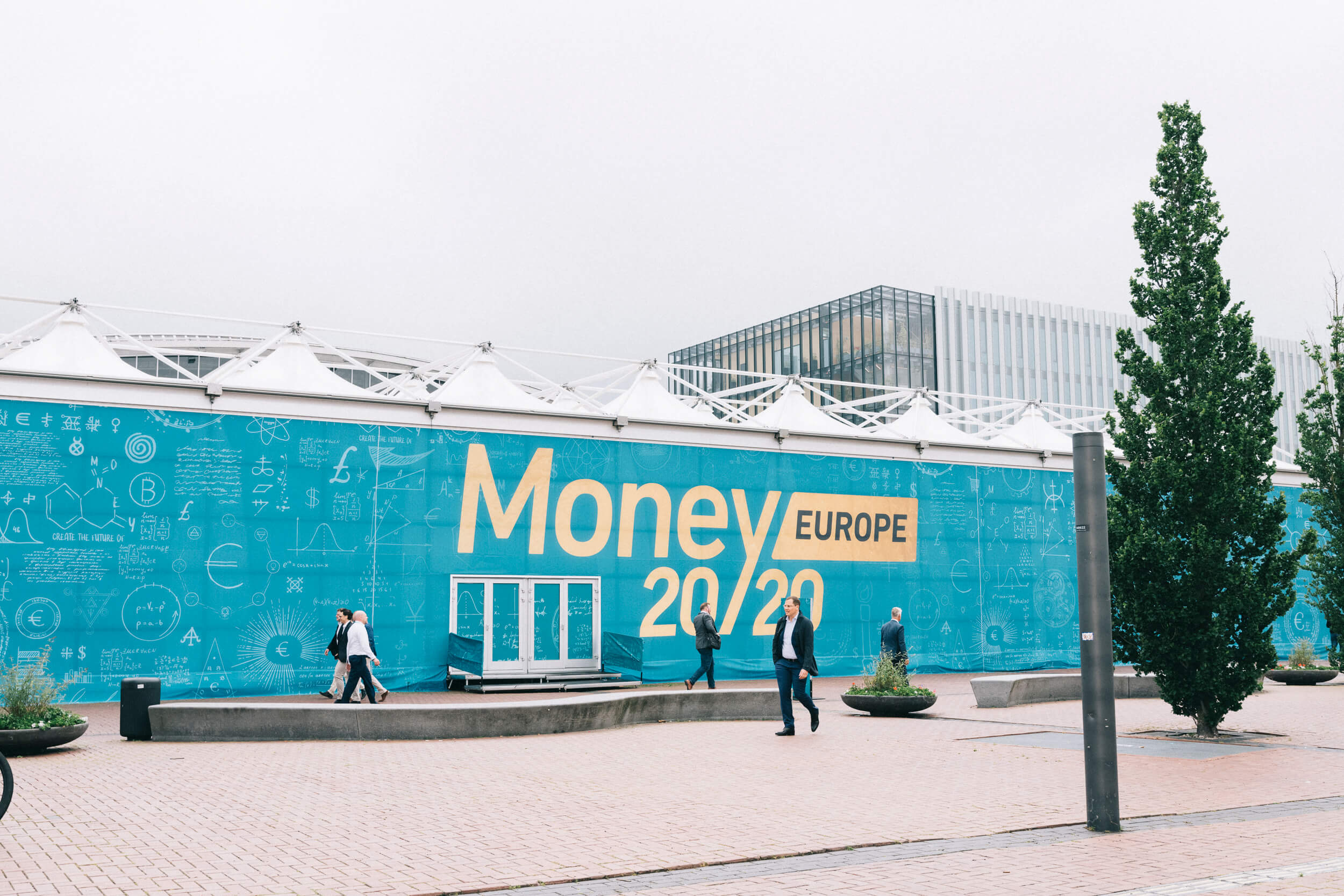 CEO Daniel Kjellén on stage at Money20/20
