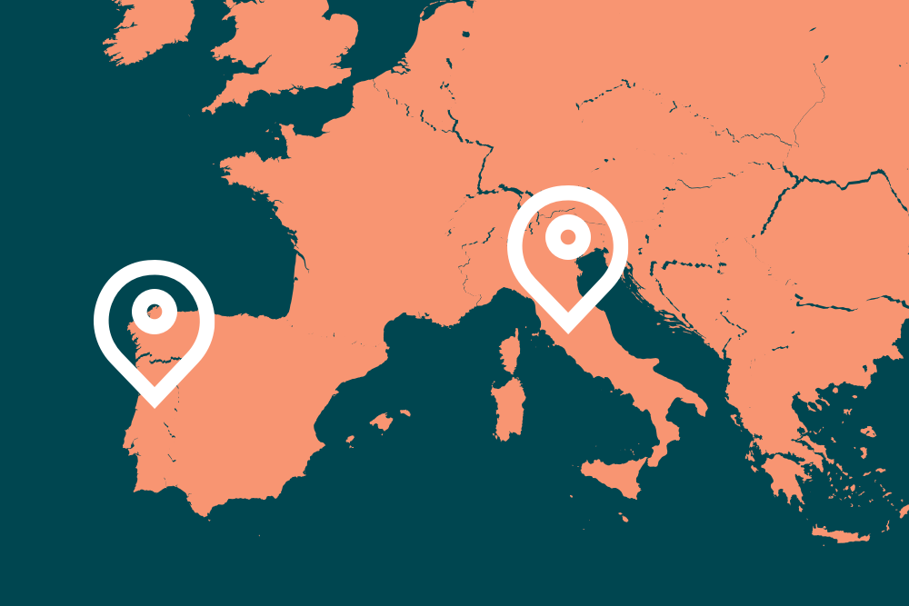 Launching our platform in Italy and Portugal – with instant access to 40 million consumers
