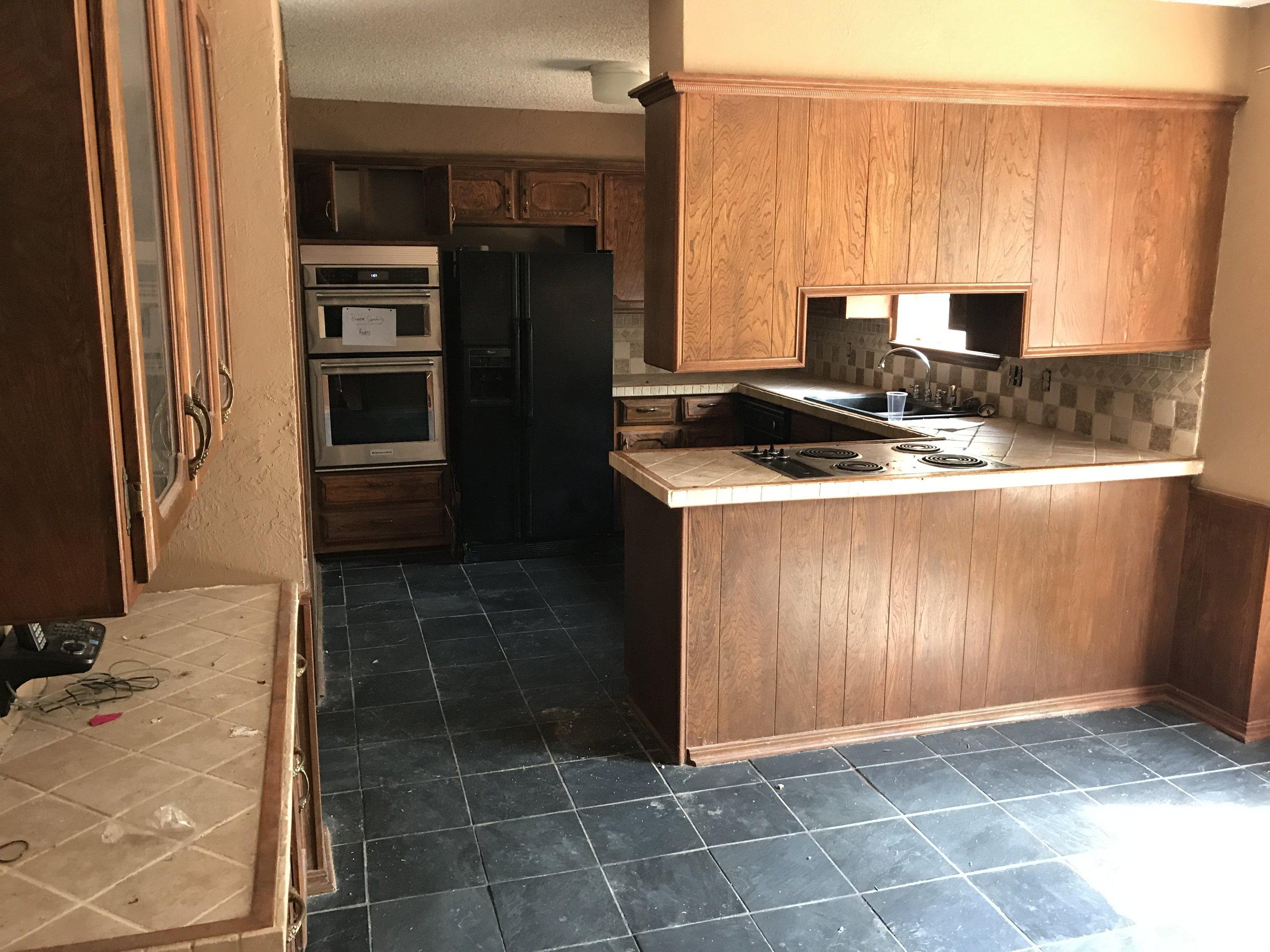 Brookhaven Kitchen - Before
