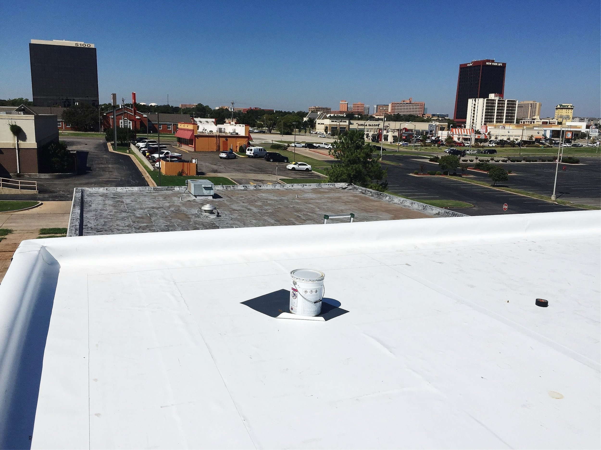 TPO - Re-roof