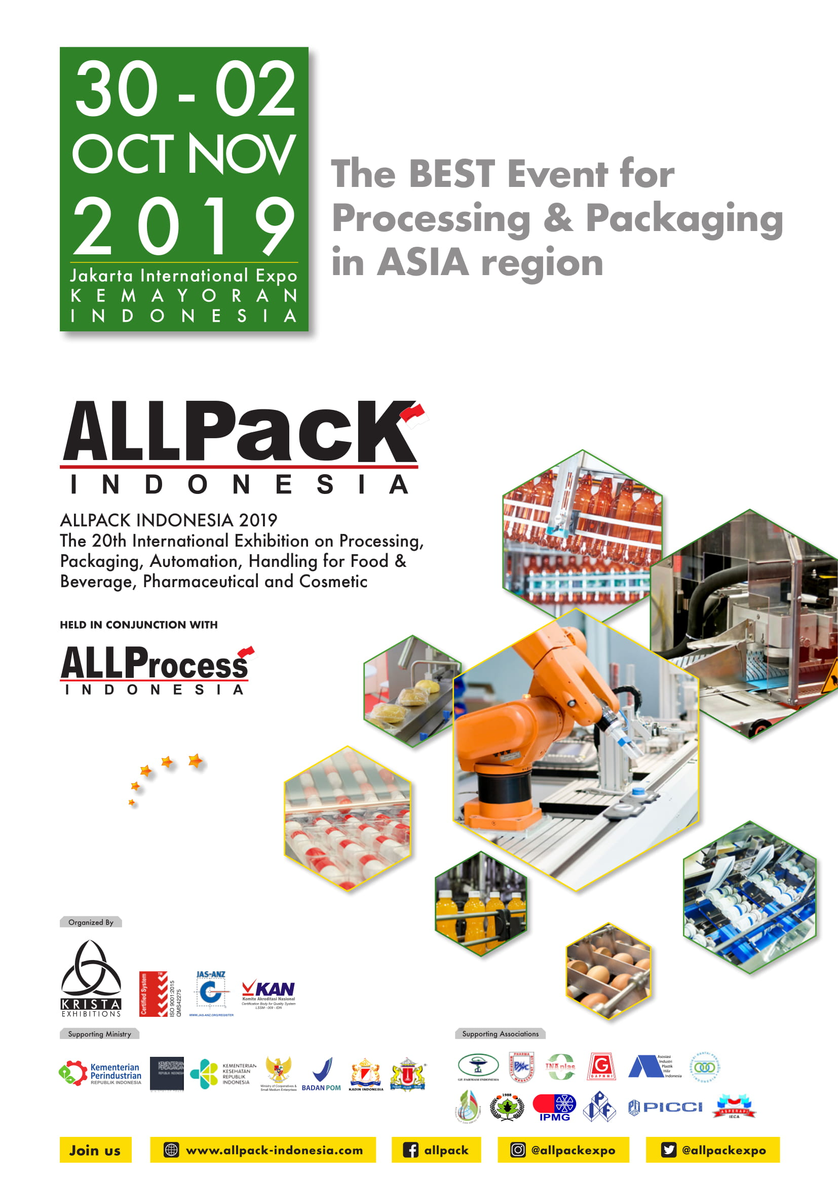 Hasil gambar untuk allpack indonesia 2019