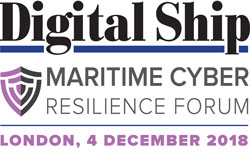 Digital Ship Maritime Cyber Resilience Forum London, 4 December 2018