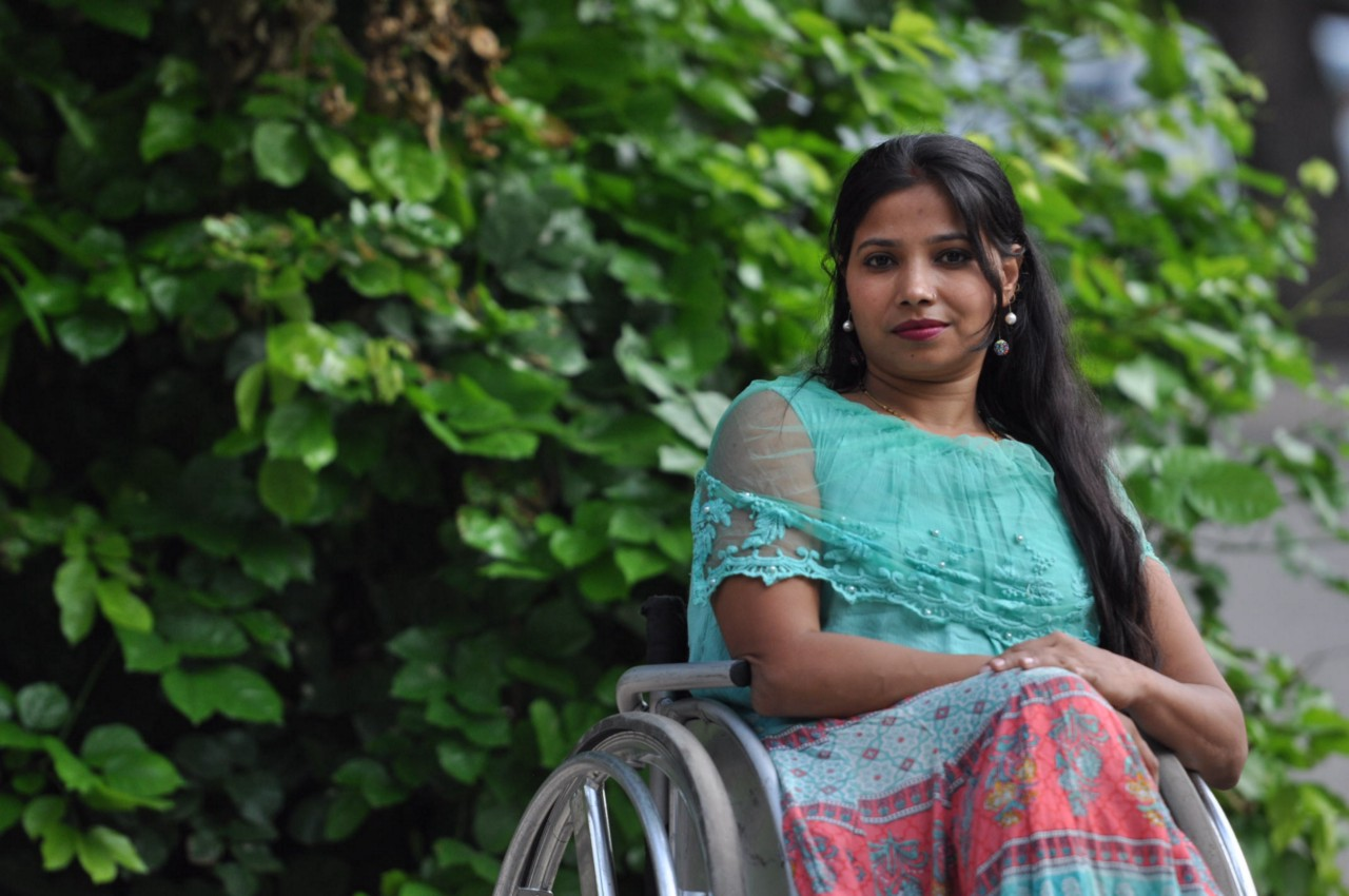 """Suvarna believes that change must start at schools: """"People with disability and especially girls with disability don't get the right education."""" (Courtesy of Suvarna Raj)"""