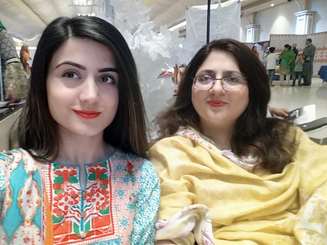 Sonia with her mother. (Courtesy of Sonia Nasir)