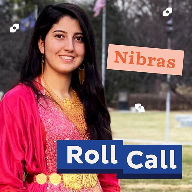 🔔Roll Call 🔔 Nibras (@nibraskhudaida), a 20-year-old Yazidi refugee living in the U.S., shows us how she navigates her new life thousands of miles away from where she grew up in northern Iraq. Check out her story in a new video series by Malala Fund. Link in bio.