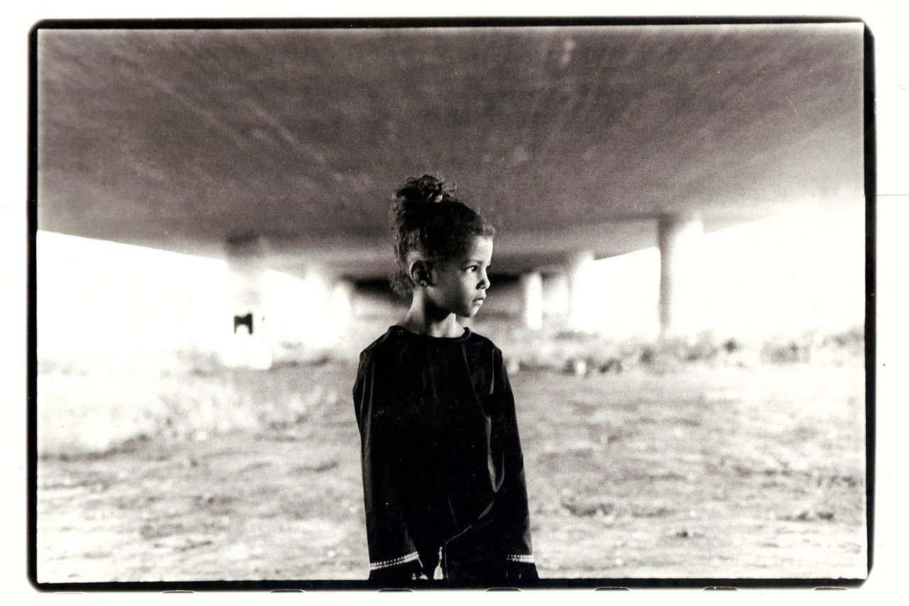 At age 16, Malin took her first photo (pictured above) and fell in love with photography. (Courtesy of Malin Fezehai)