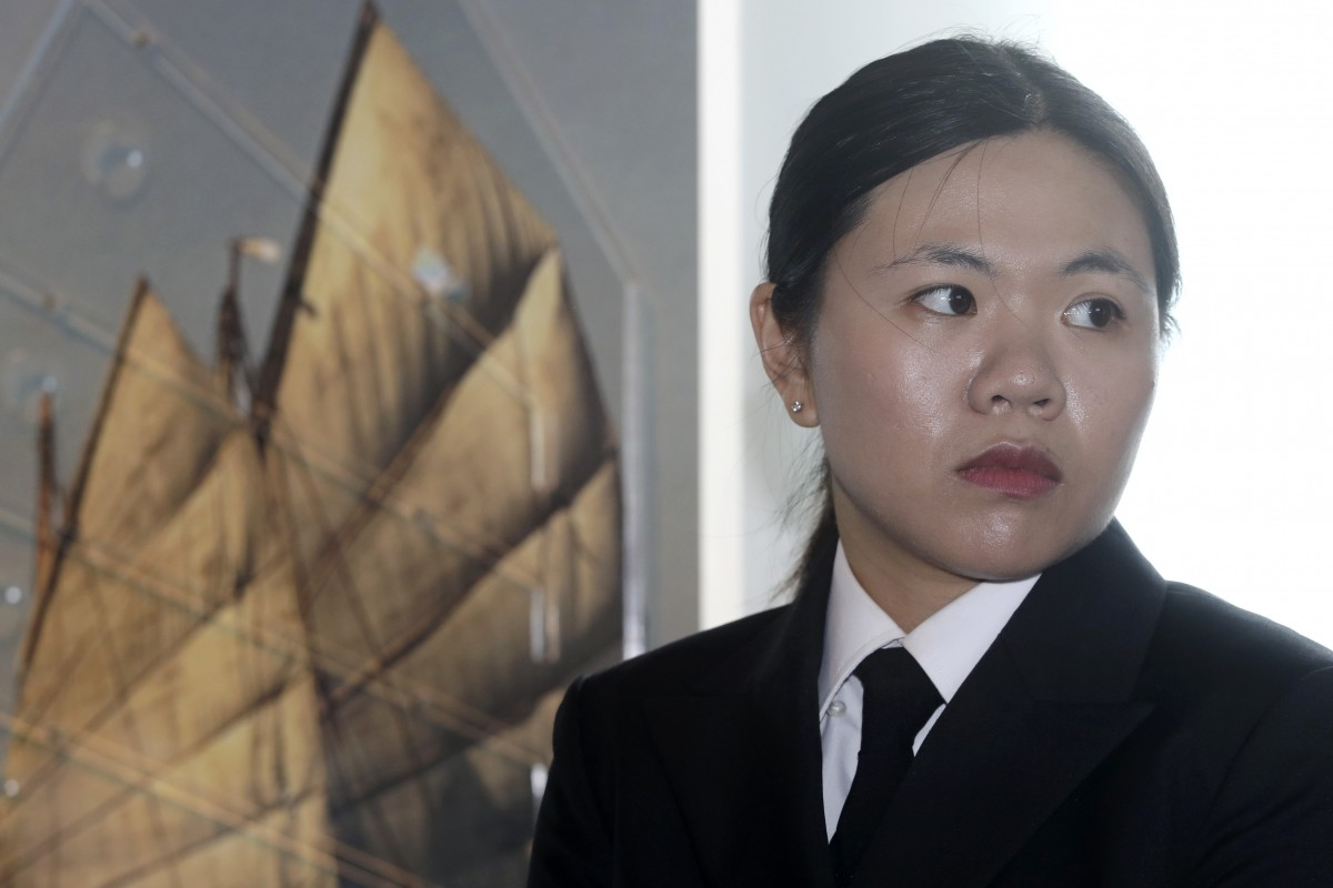 Joanna Kwok Wing-yan is the first female chief engineer on seagoing vessels in Hong Kong. (Courtesy of Handout)