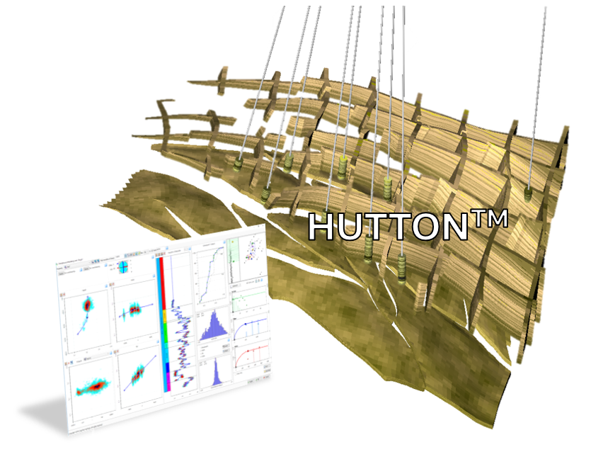 HUTTON  is a modern petrophysical property modelling tool, designed to make the process by which we identify trends and populate our reservoir grids with continuous properties intuitive and geologically sound.  HUTTON  makes this possible using a single streamlined display developed by Cognitive Geology for both Petrel E&P Software Platform and JewelSuite.