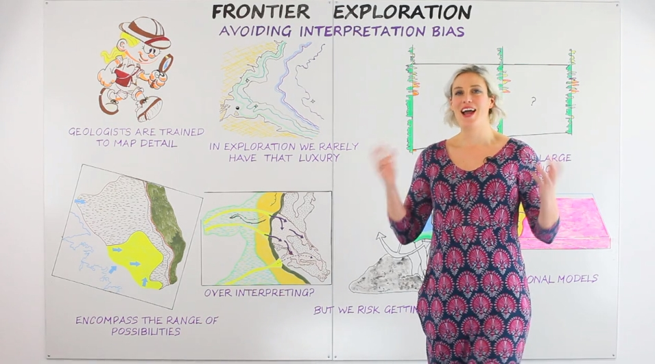 Frontier Exploration: Avoiding Bias - We welcome our new Senior Geologist Kirsty as she presents her first Cognitive Whiteboard.