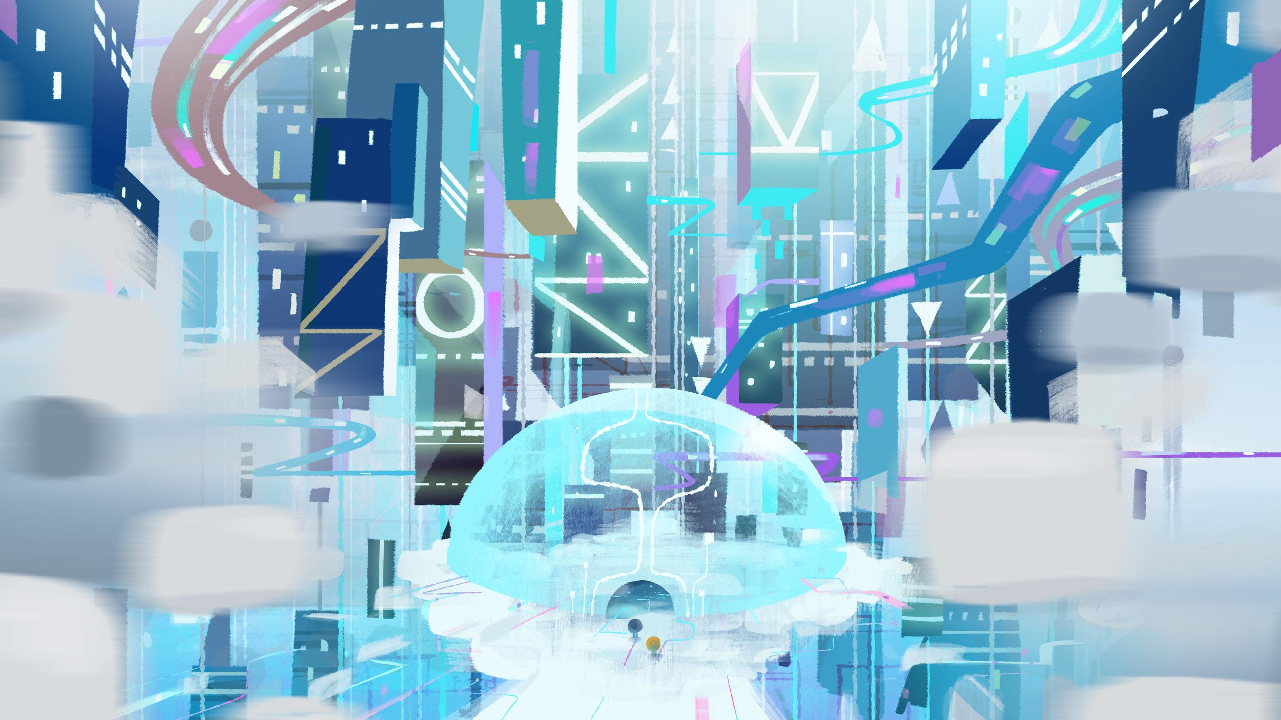 Cloudy City Design