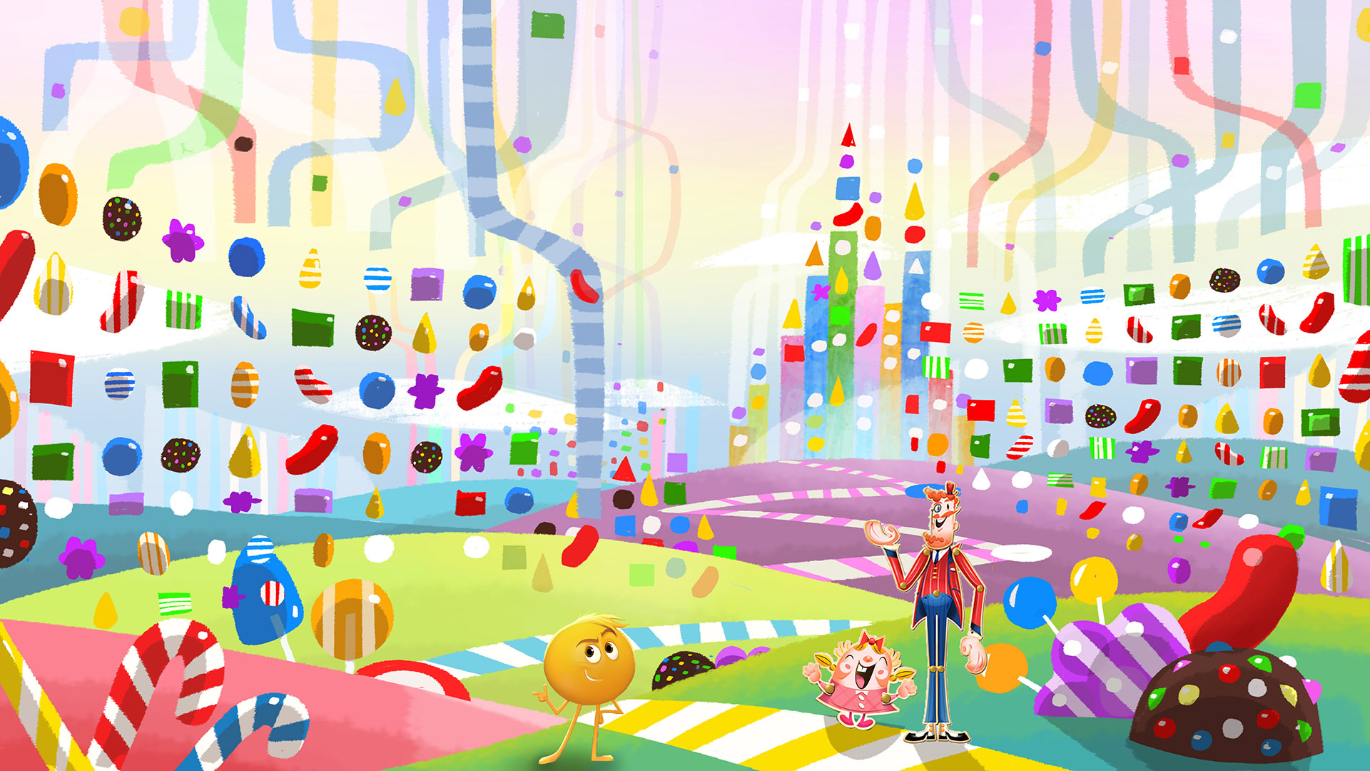 Candy Crush App concept
