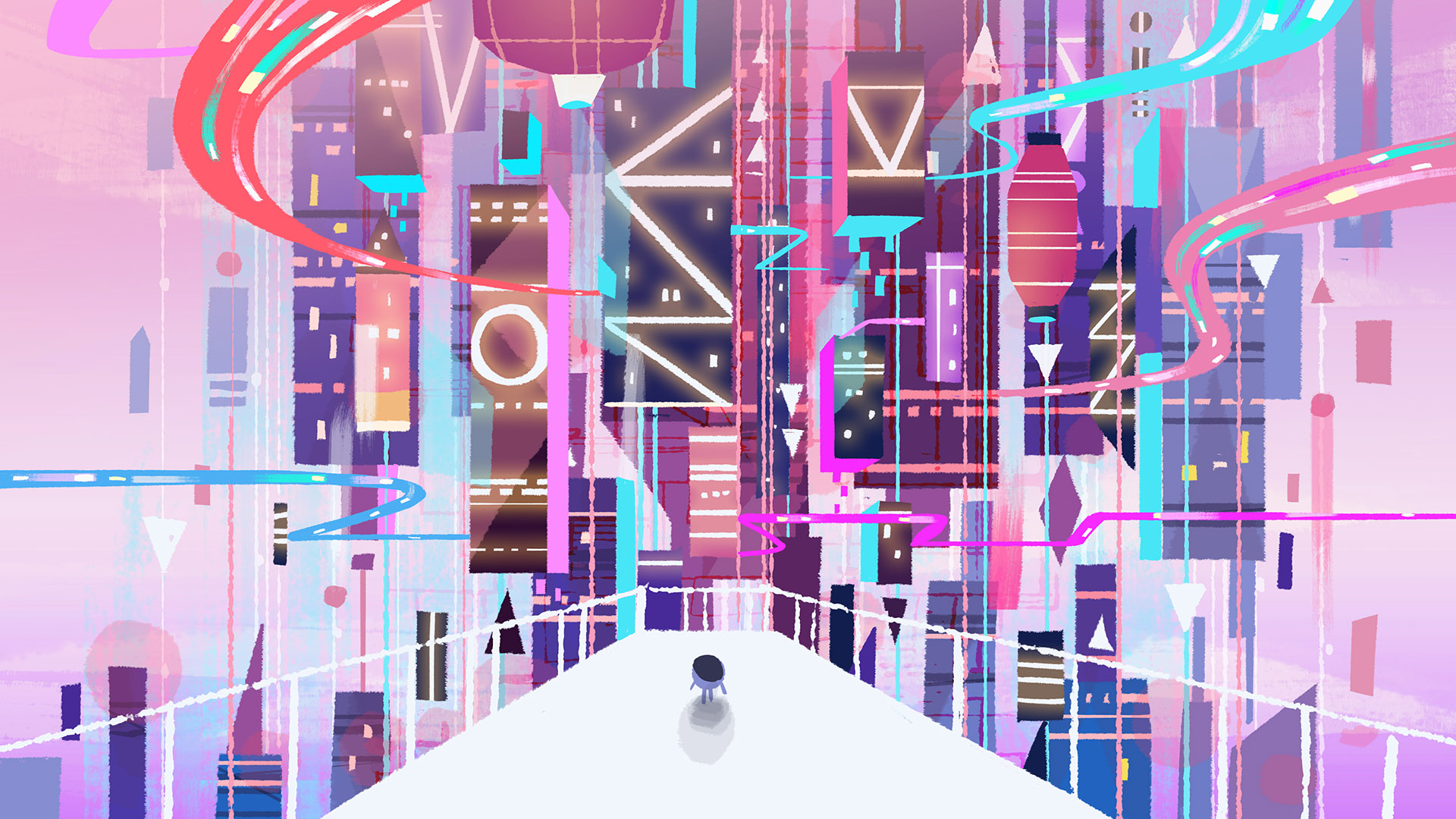 Cloudy City early development