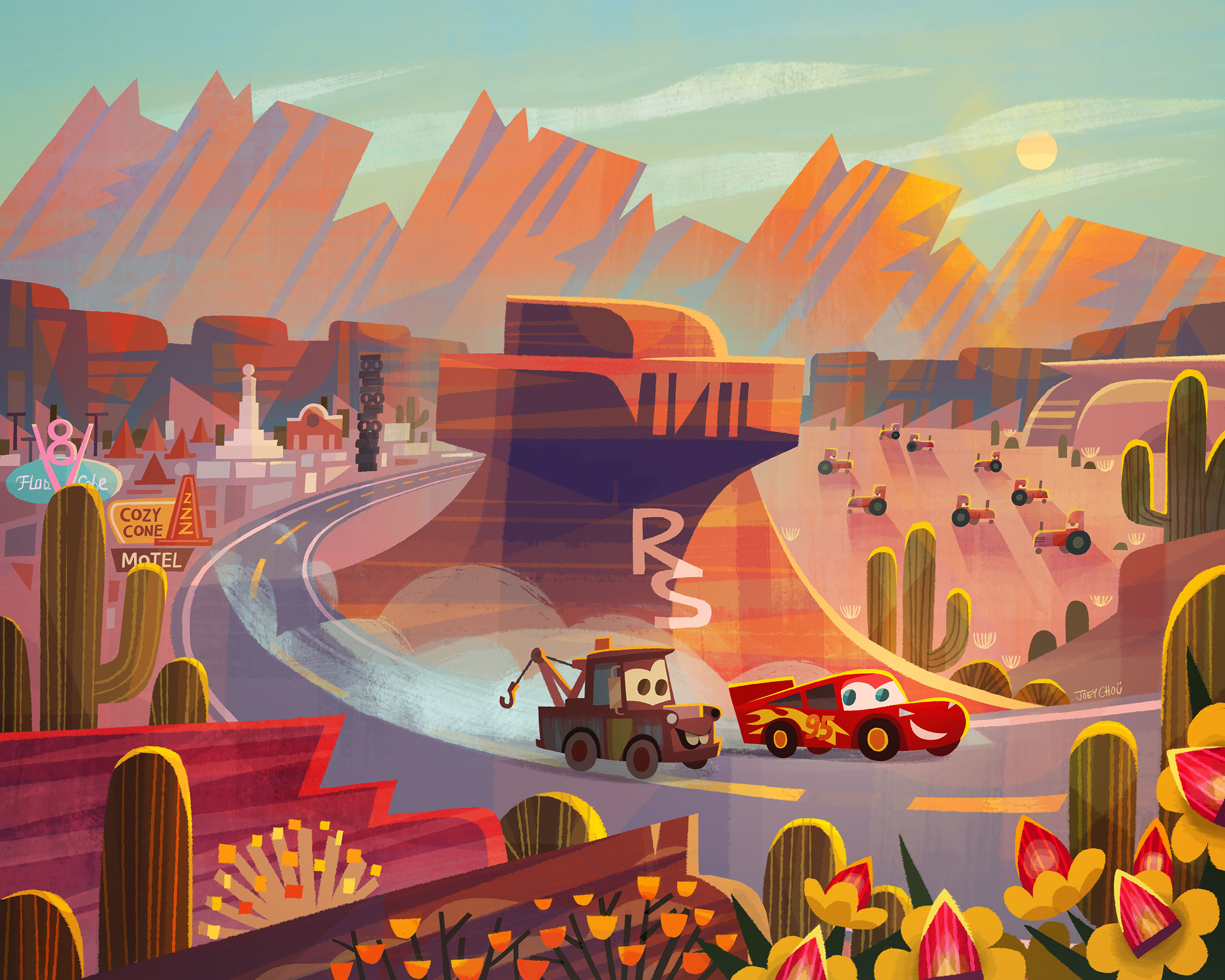 Race Around Radiator Springs