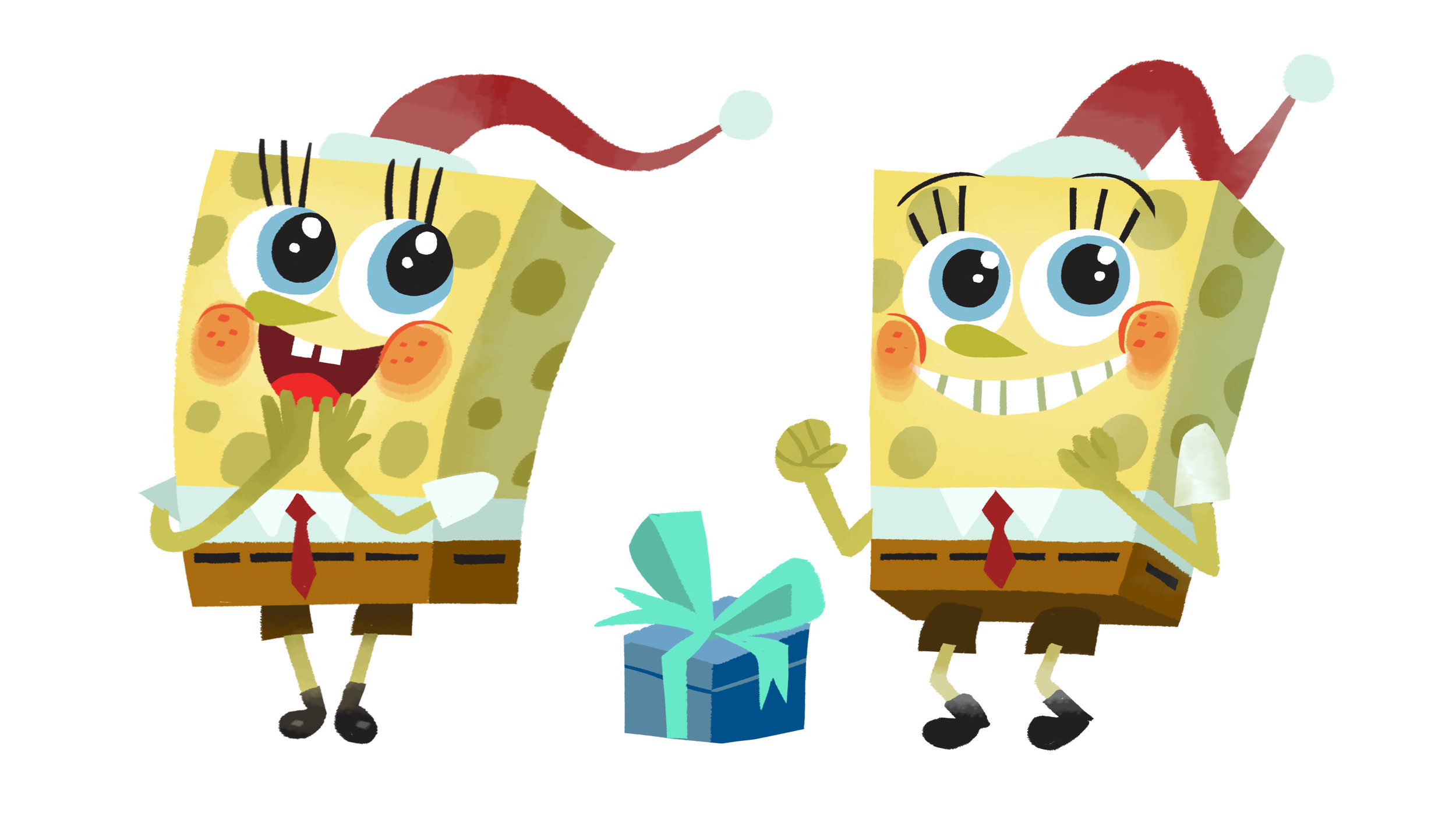 spongebob holiday special