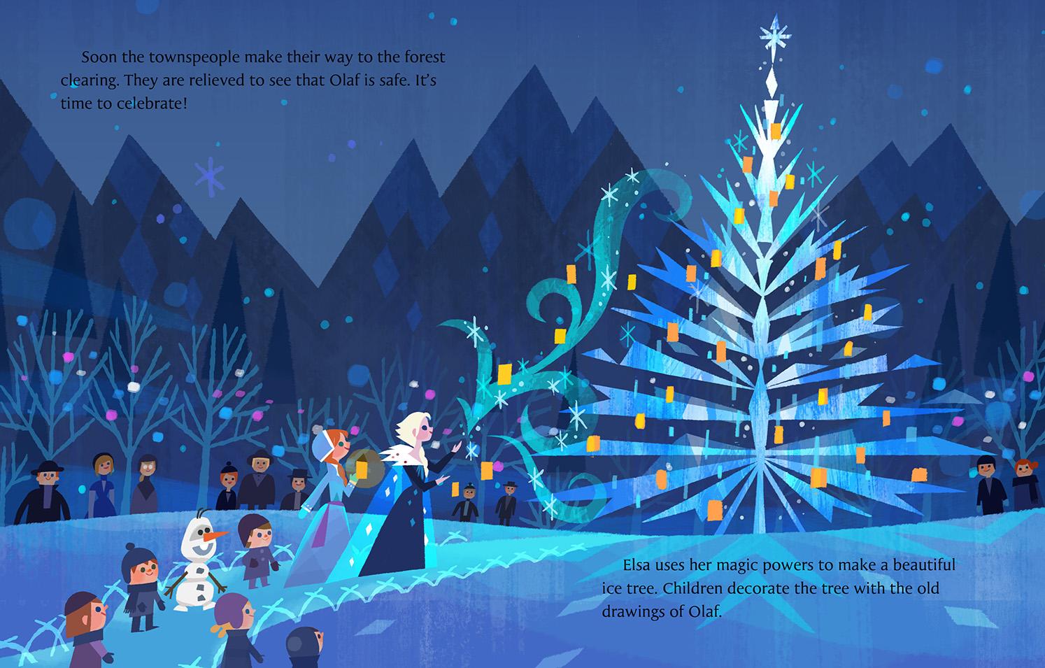Little Golden Book- Olaf's Frozen Adventure