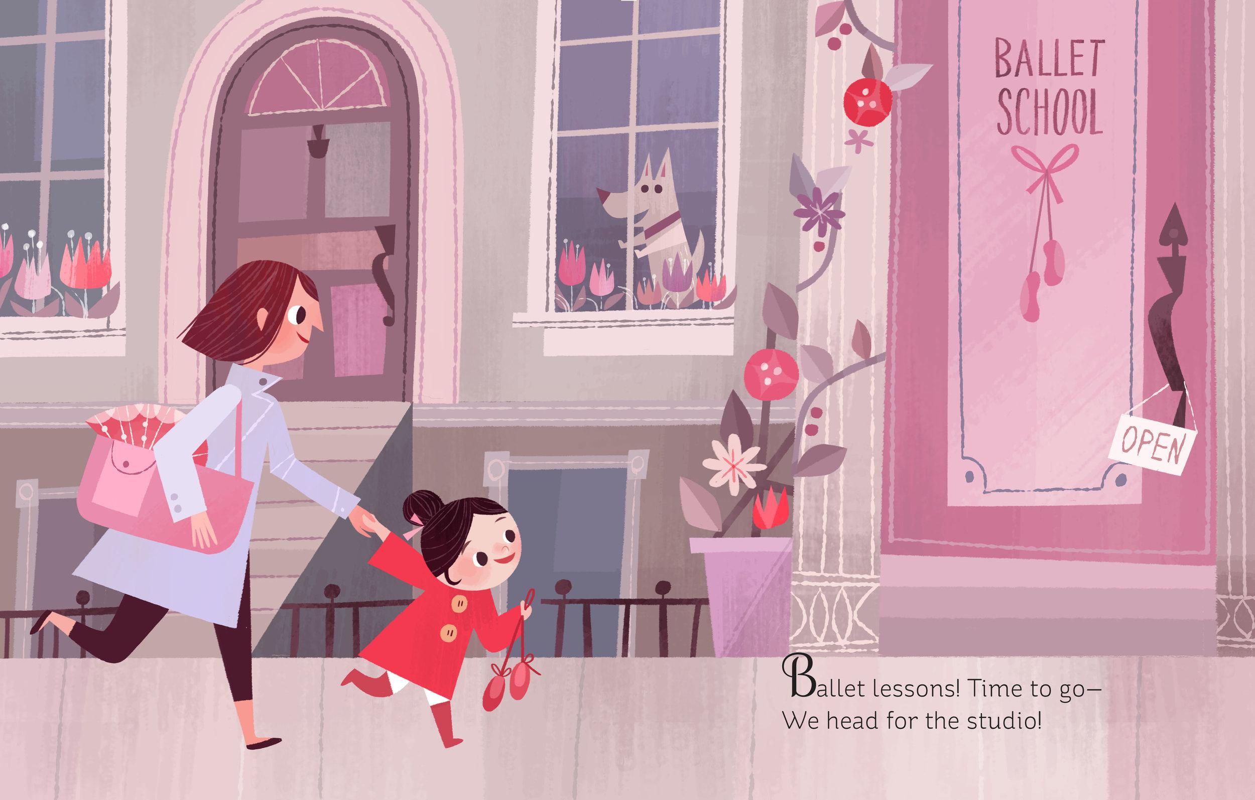 Little Golden Book- I am a Ballerina!
